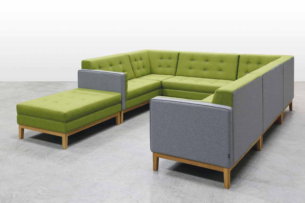 Modular breakout area seating