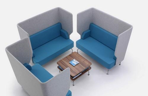 Brix-Up acoustic sofa