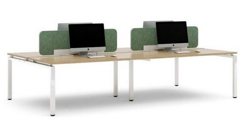 Office desks - oblique design