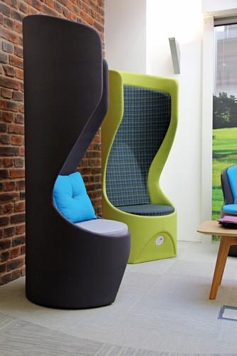 Office pods hide design