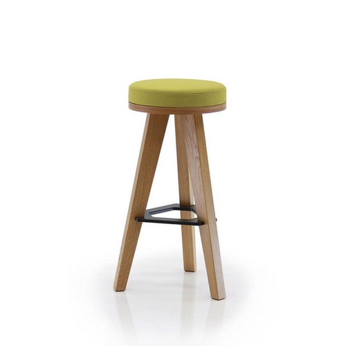 MARTIN padded high office stool