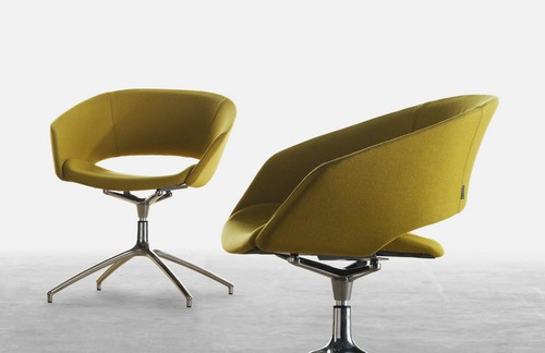 Colourful chair for office reception and breakout space