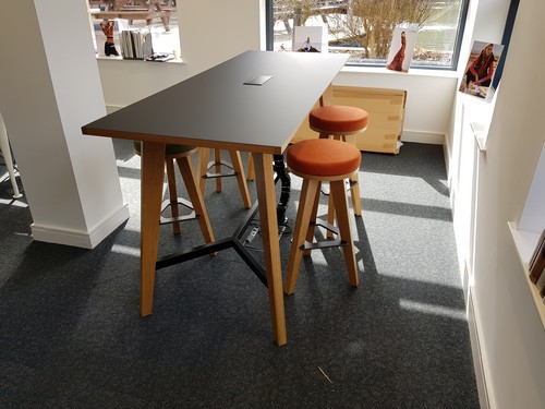 Martin high meeting table in the office