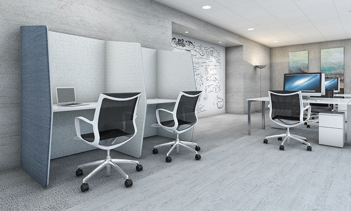 snug acoustic pods in office