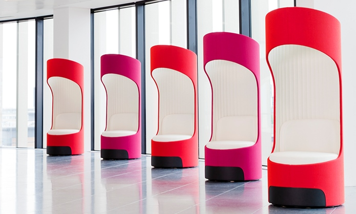 cega acoustic pods in office