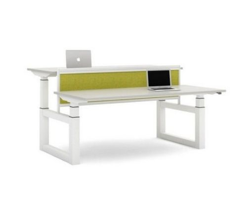 Sit stand bench desk for office - ADAPT