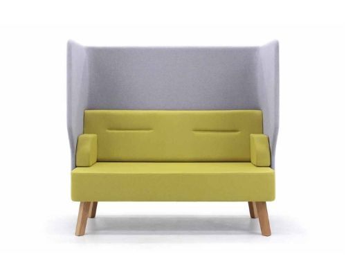Acoustic office sofa