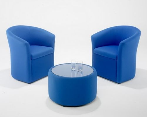 Tub chairs for office breakout area