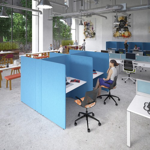 Squares Private Working Booths