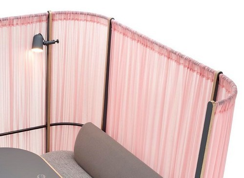 Kurt one person privacy booth