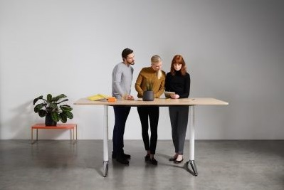 sit stand meeting table