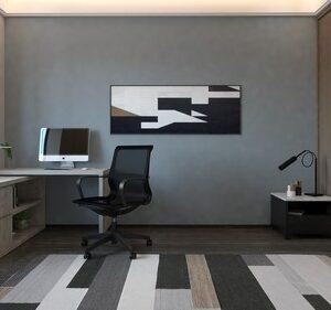 Grey Oak Fleur Desk