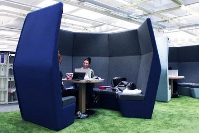 using an acoustic pod