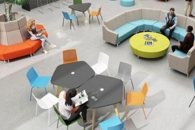 office breakout area